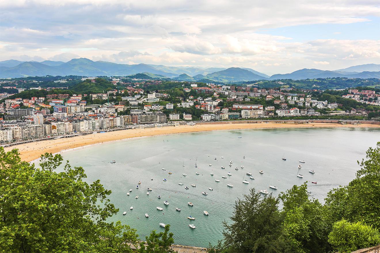 A Taste of San Sebastián, Europe's Culinary Capital- San Sebastian Coast Line