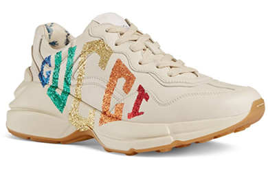 Sneakers gucci rainbow