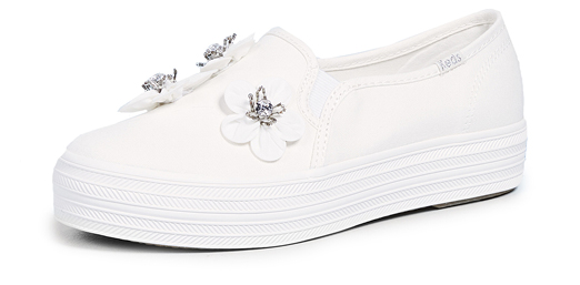 Sneakers slip on white