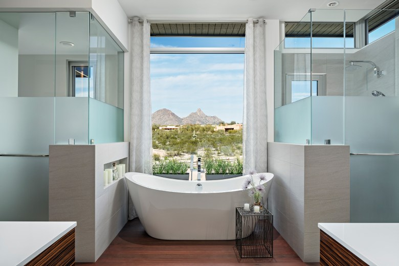 Dale Gardon modern Arizona home
