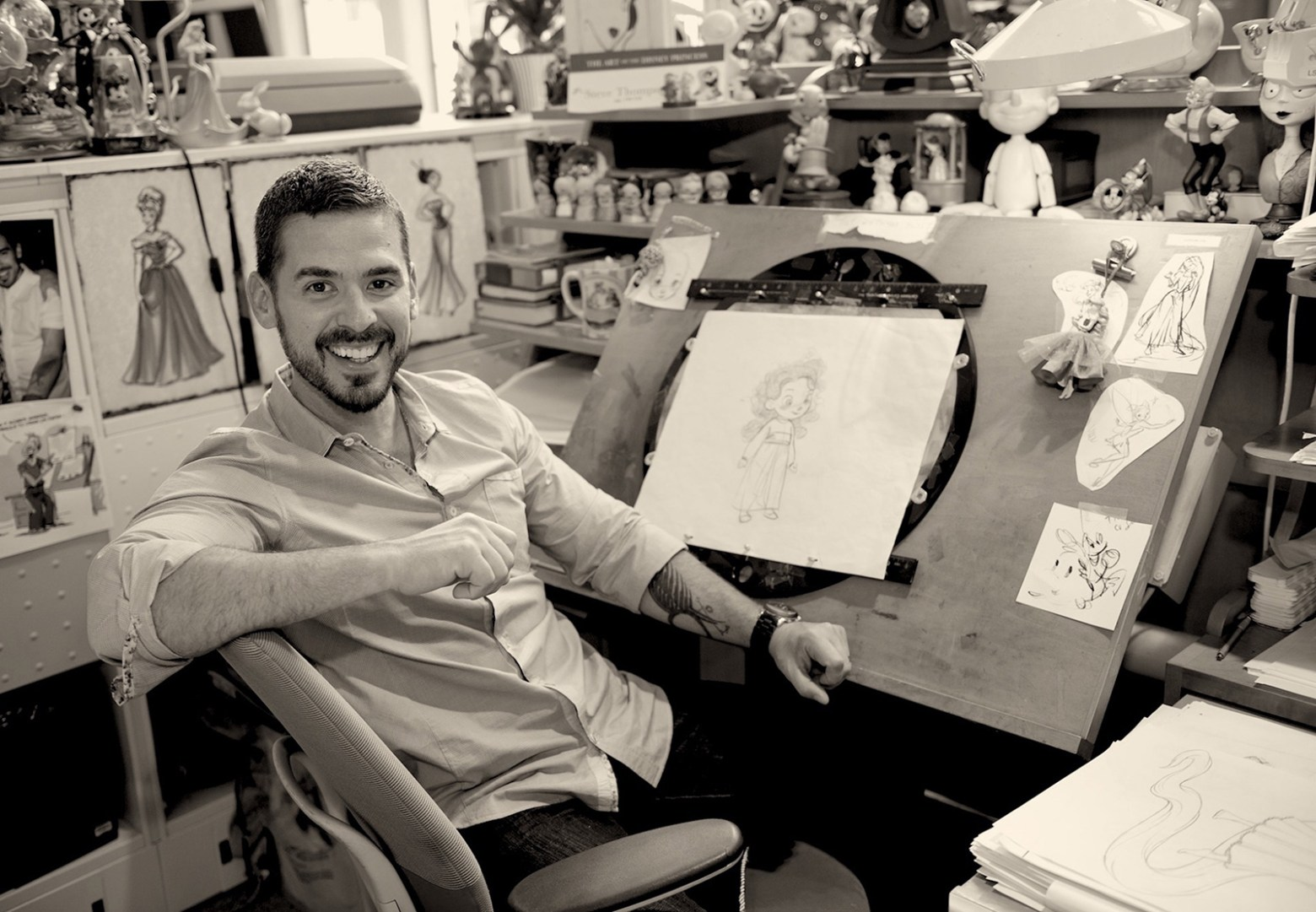 Disney Dreams for Designer Steve Thompson
