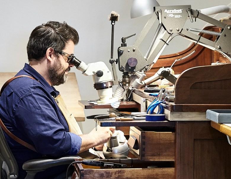 Adam Foster Jewelry Workshop