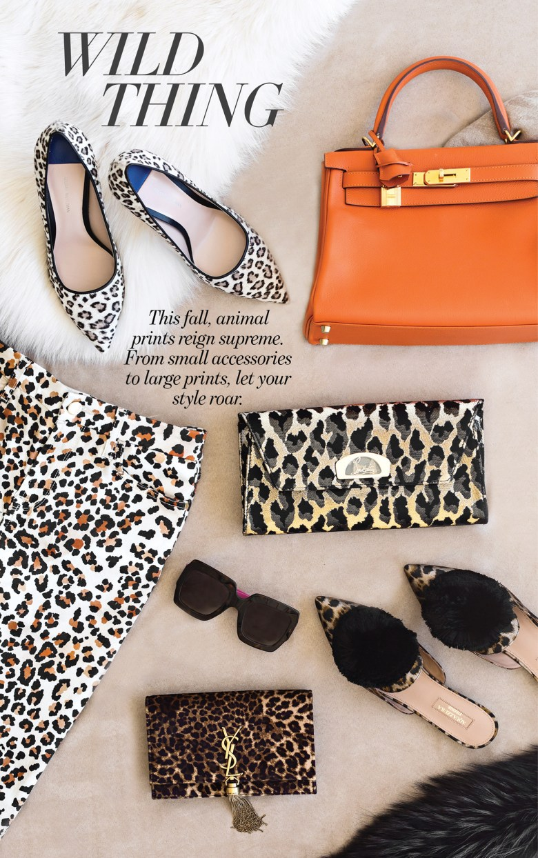 Animal print fashion style and trends