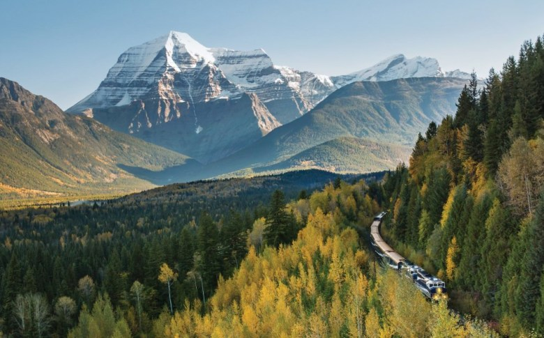 luxury train travel on the rocky mountaineer