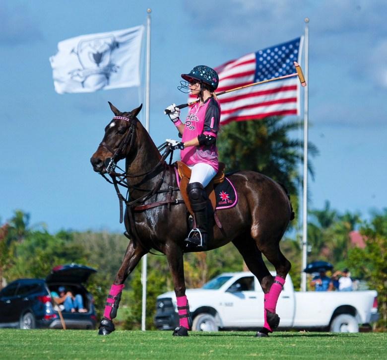 Ashley Busch on horse