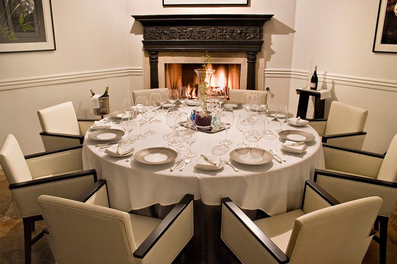 Melisse The Augustine private dining room