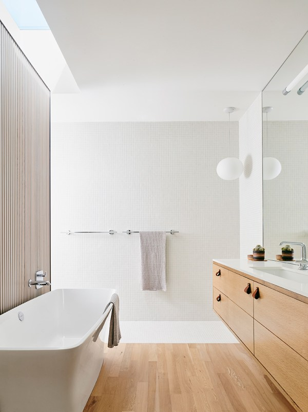 Modern minimal bathroom design