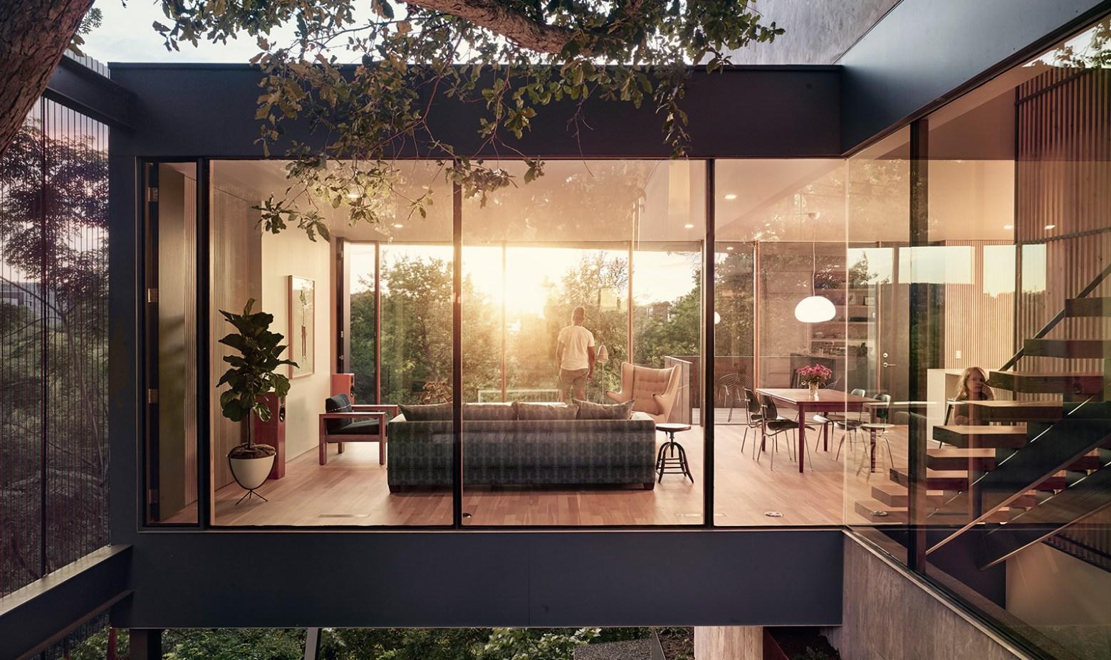 Modern Day Treehouse in Austin, Texas