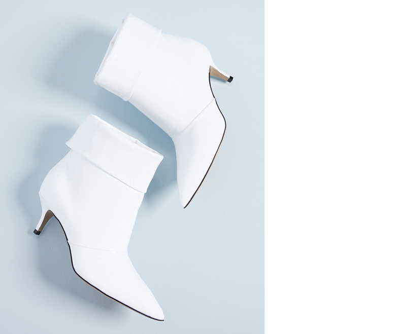 fashion White Boots