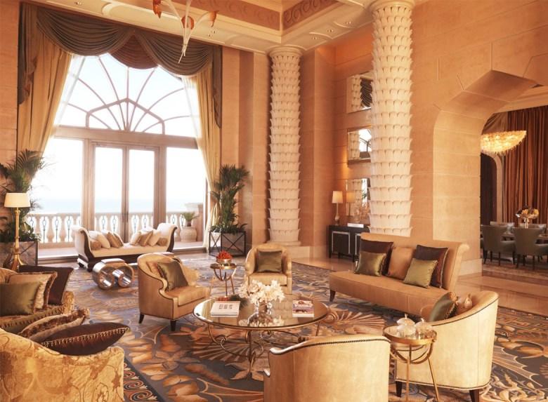 ROYAL BRIDGE SUITE AT ATLANTIS – The Palm, Dubai