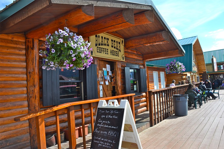 The Black Bear Coffee House– Denali National Park, Alaska