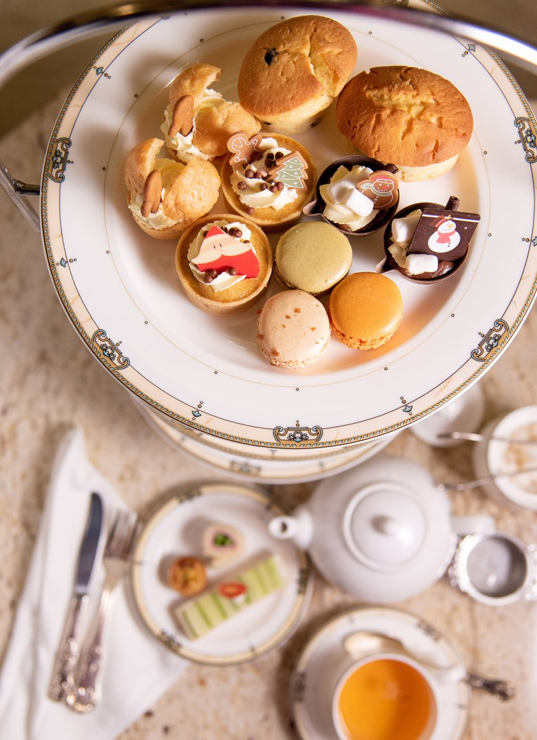 HOLIDAY TEA AT THE DRAKE HOTEL – Chicago, Illinois - Plate full of treats