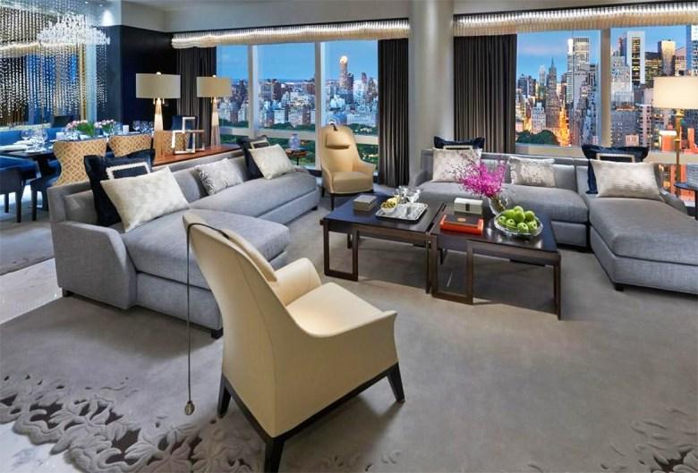 Suite 5000 – Mandarin Oriental, New York - Living Room