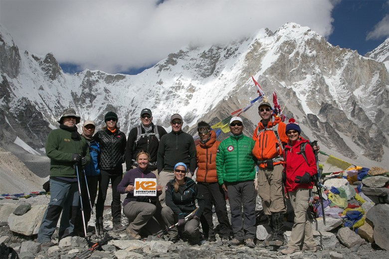 K2 Adventures Foundation - Hike in Nepal Group Photo
