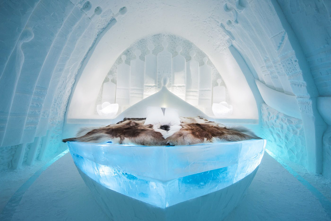 Four Luxury Ice Hotels