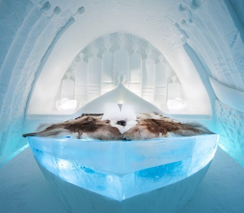 Four Luxury Ice Hotels