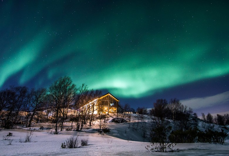 SNOW HOTEL KIRKENES – Bjørnevatn, Norway - Northern lights