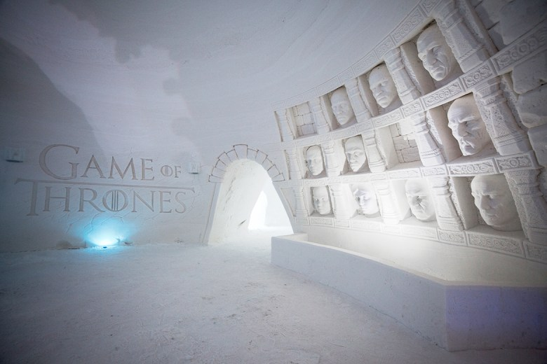 SNOWVILLAGE – Kittilä, Finland - Ice Hotel - Game Of Thrones