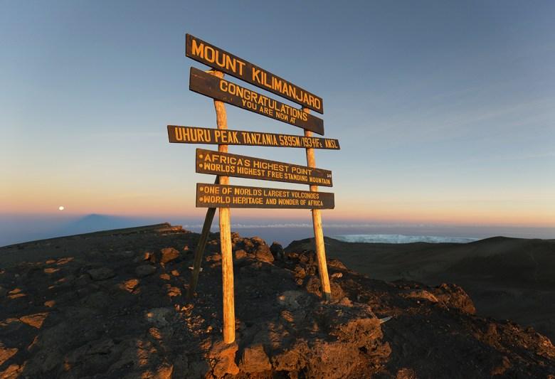 K2 Adventures Foundation - Uhuru Peak on Mount Kilimanjaro