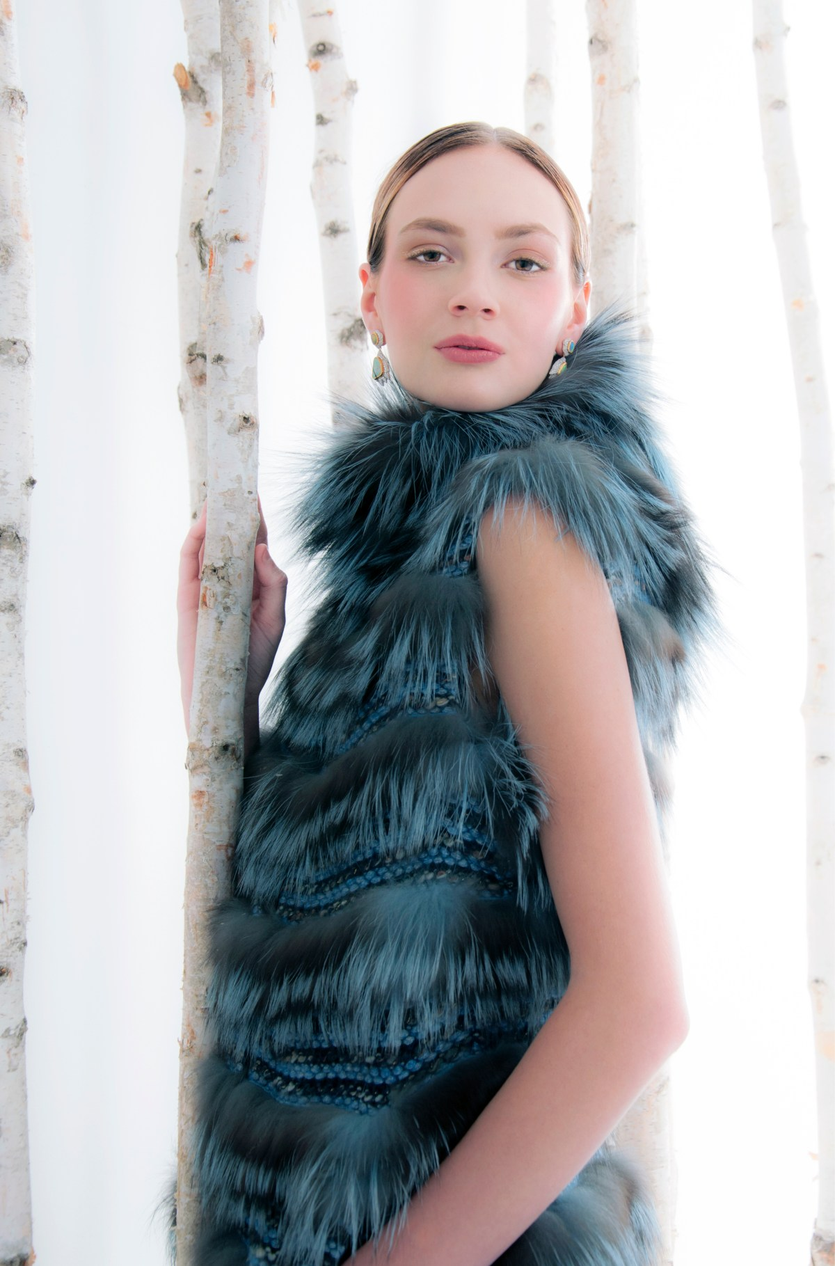 silver fox winter fashion