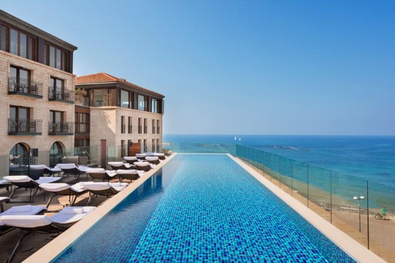 THE SETAI Hotel Pool and Sea view Tel Aviv