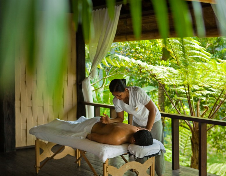 COMO-SHAMBHALA-ESTATE Bali, Indonesia - Como Outdoor Massage