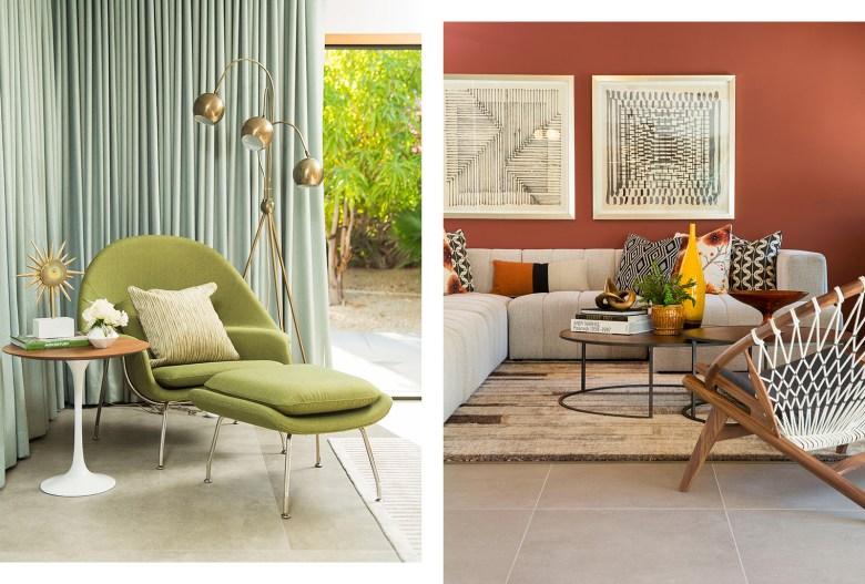 Mid-Century Modern Home Palms Springs CA - Interior