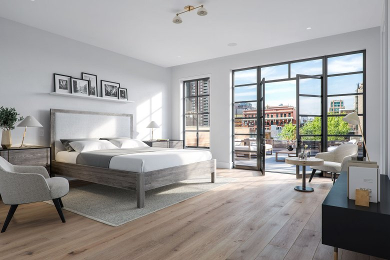 15 Jay Street in Tribeca NYC - Modern Bedroom