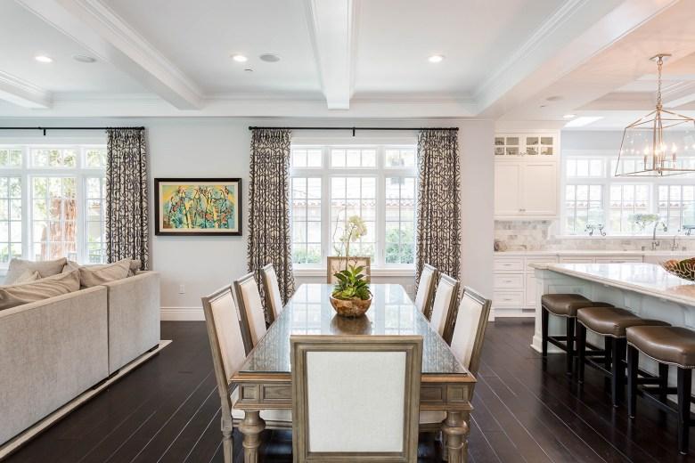 Modern design dining room
