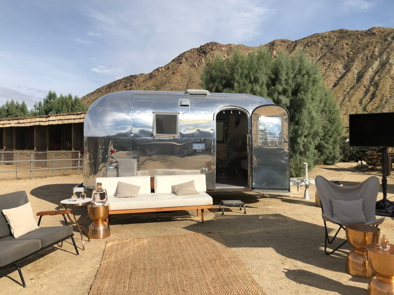Tricked-Out Airstreams - Silver Trailer Airstream Bambi