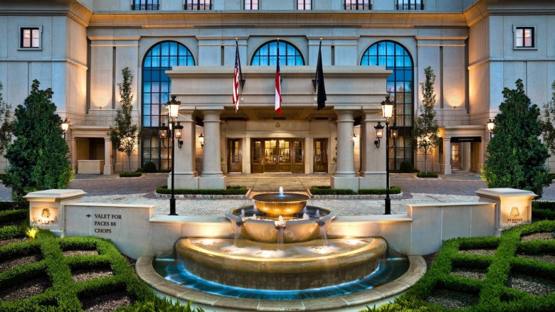 The St. Regis Hotel, Atlanta GA - Entrance