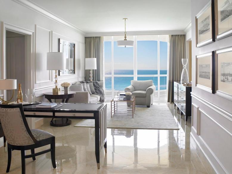 Acqualina Resort & Spa Ocean View Room Miami