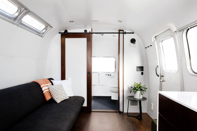 Tricked-Out Airstreams - Living Area by Auto Camp