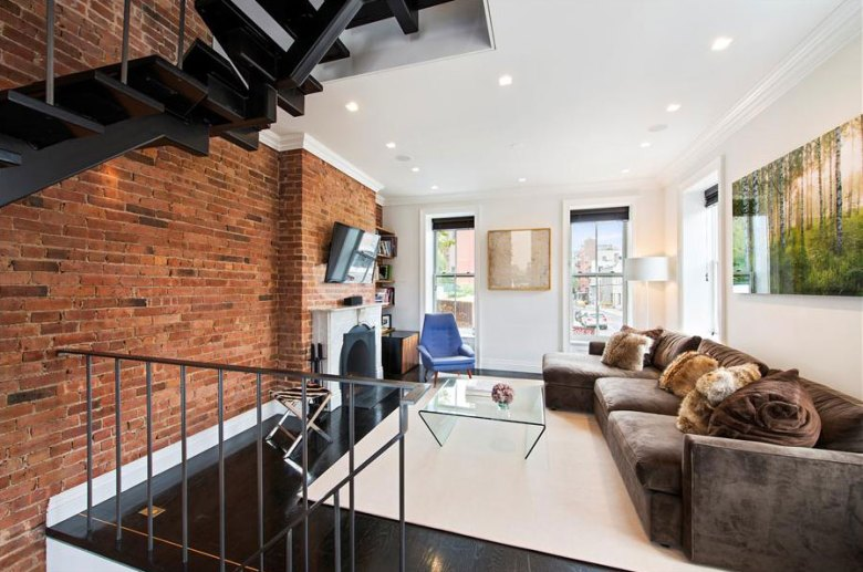Meshberg Group - 69 Gold Street (Vinegar Hill) in Brooklyn New York - Living Room