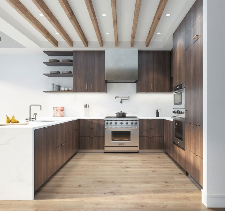 Meshberg Group - 15 Jay Street in Tribeca NYC - Kitchen