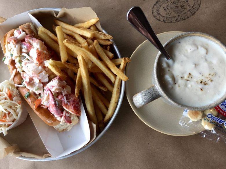 Legal Sea Foods, Boston Logan International Airport - Lobster Roll