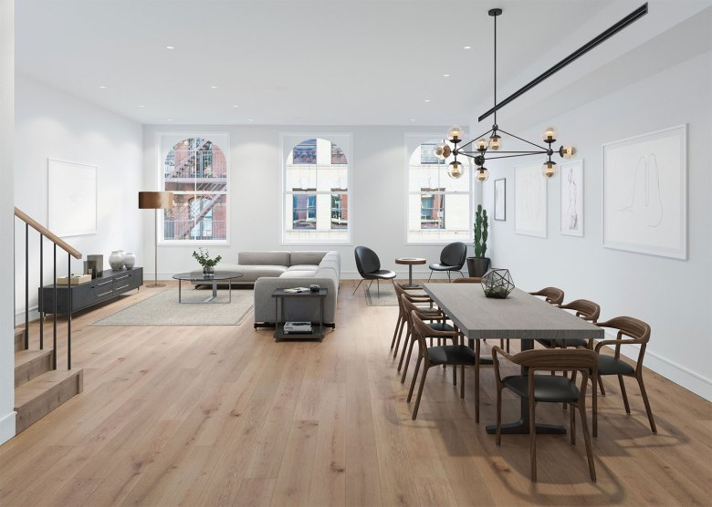 Architects Meshberg Group New York - Living Room Dining Room