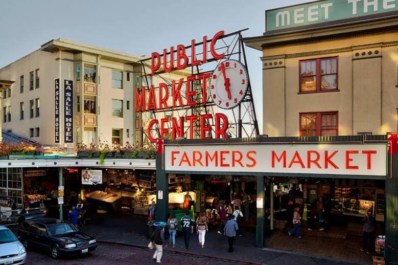 Pike Place Market Seattle wa