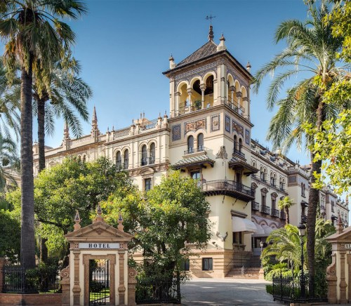 The best hotel in Seville Spain, Hotel Alfonso XIII.