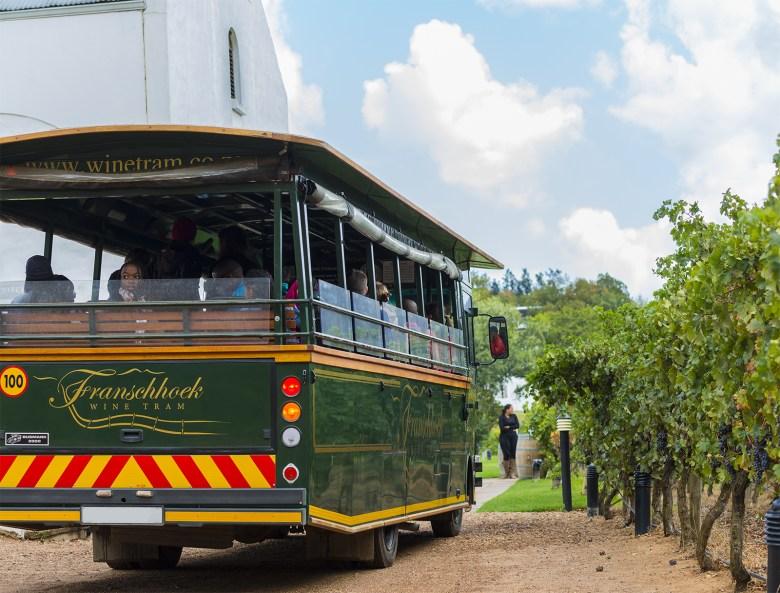 Franschoek Wine Tram in South Africa