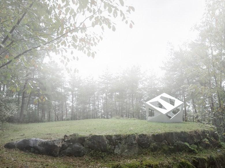 Moriyuki Ochiai Architect art outdoors