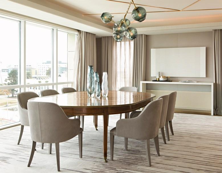 minimal dining room by Designer Joan Behnke