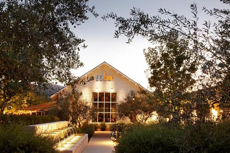 Solbar Restaurant in Napa Valley California