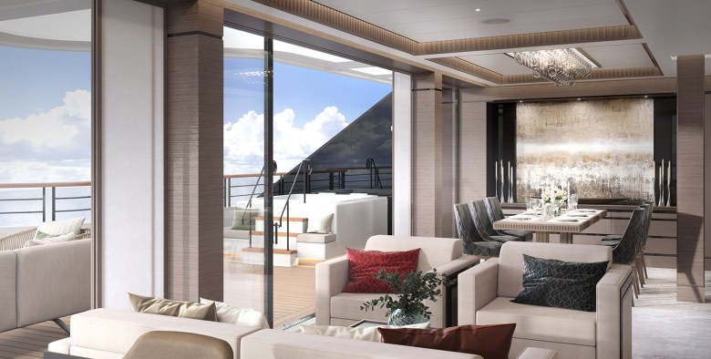 The Ritz-Carlton Yacht Ocean Luxury Cruises