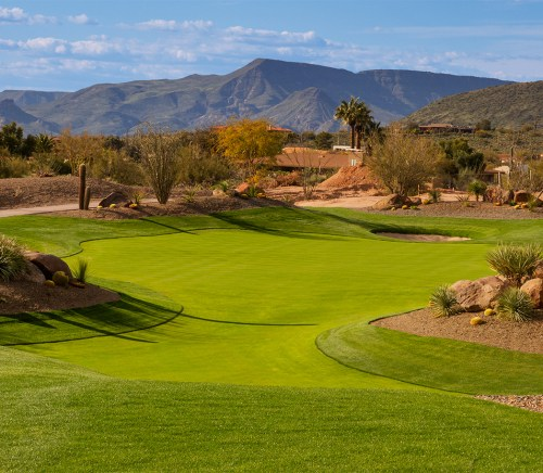 Hole Seven at Desert Mountain Golf Course