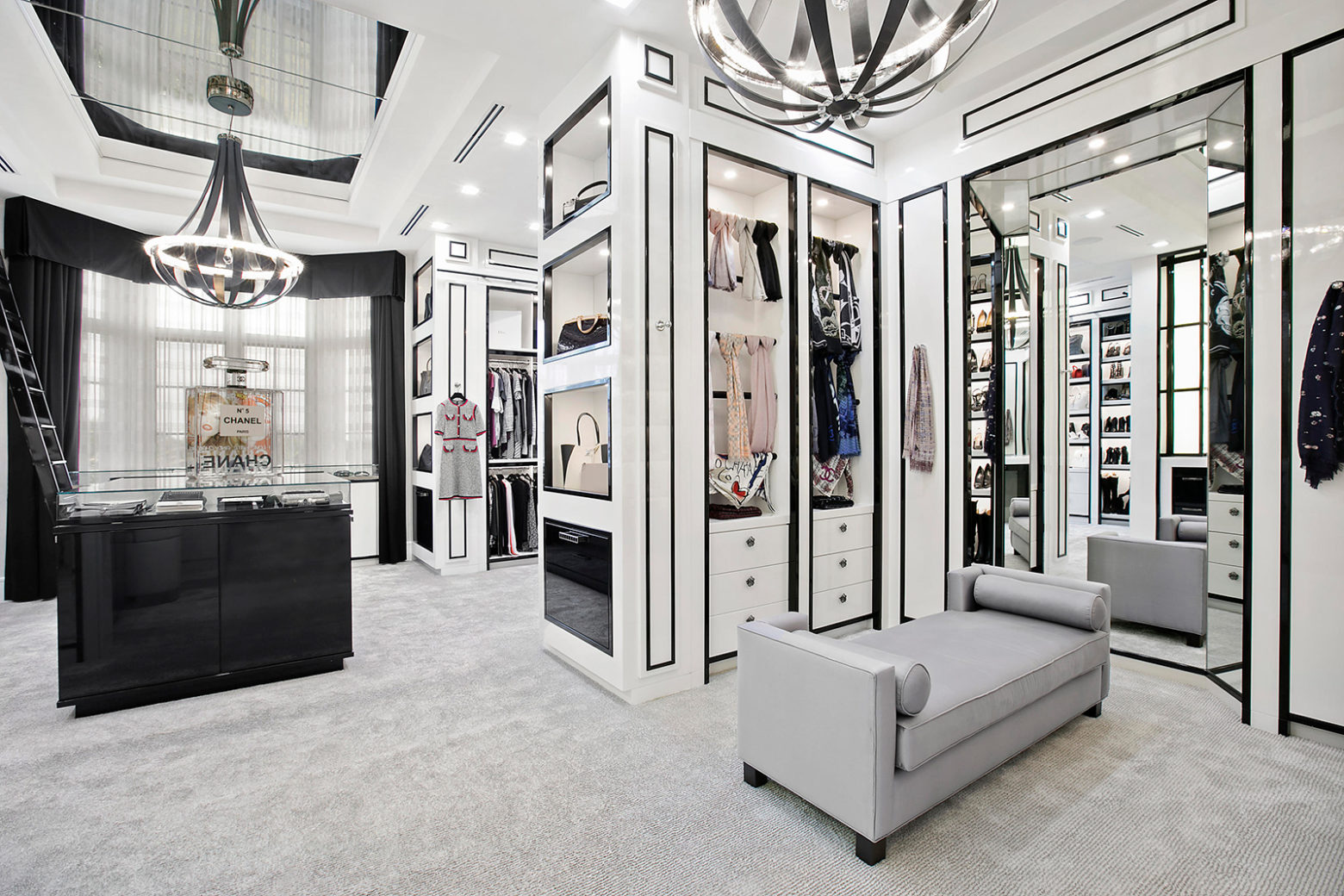 Wondrous Walk In Wardrobes To Envy Iconic Life