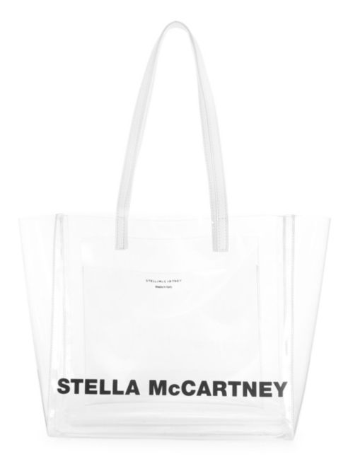 Stella McCartney Small Logo Translucent Tote