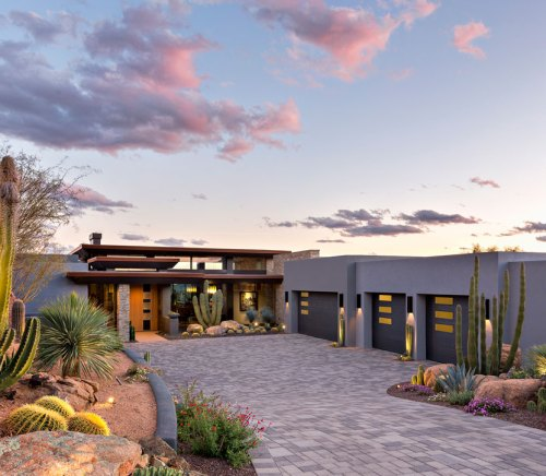 Modern design Scottsdale home Tate Studio Architects