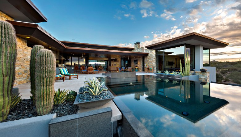Architect Mark Tate custom home Scottsdale