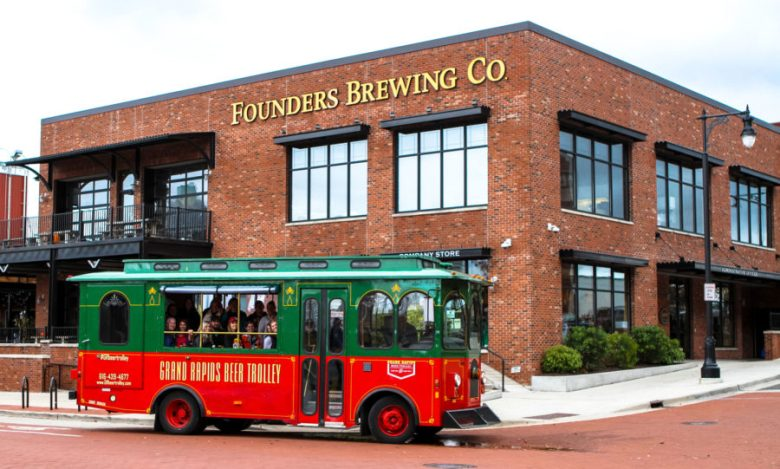 Founders Brewing Co. in Grand Rapids